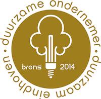 Bronzen Keurmerk Duurzame Ondernemer 2014